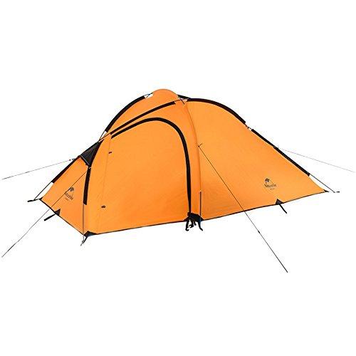 サイバースペース魅惑的な近所のキャンプテント4シーズン1ベッドルーム、1階建てのマルチテントのテントは、アウトドアスポーツのためにオレンジのパッチワークで組み立てる必要があります