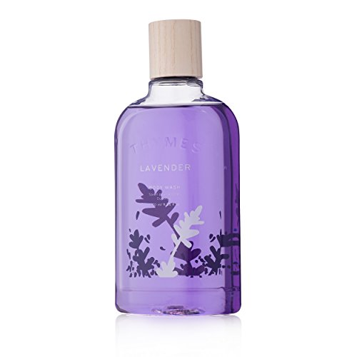(Thymes - Lavender Body Wash - Hydrating Lavender Shower Gel for Gentle Calming Cleanse - 9.25 oz)