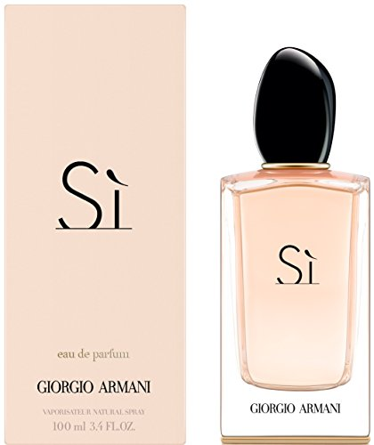 Live Eau De Parfum Spray - Giorgio Armani SI Eau De Parfums Spray for Women, 3.4 Ounce