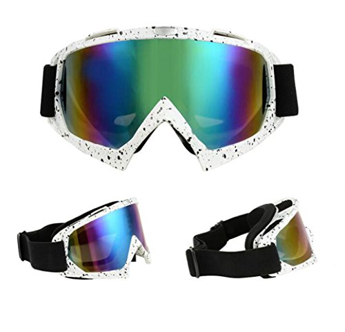 Motocross Goggles Sports Googles Eyewere Glasses Dirt Bike Riding Cycling Off road Motorcycle ski Big - Big Rims Face