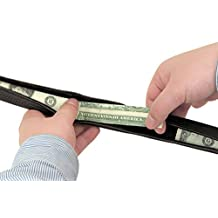 Travelon Security-Friendly Money Belt, 42-44 Inch Waist,Black,One Size