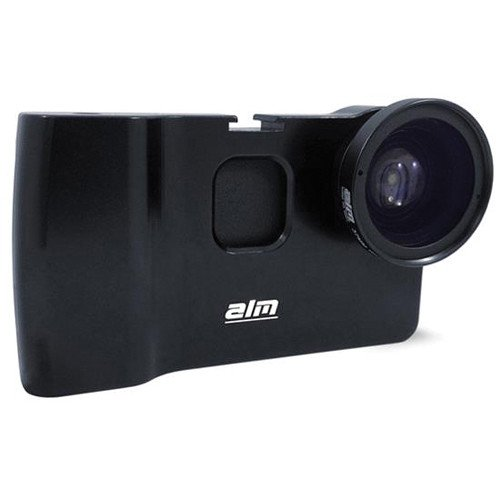 ALM mCAMLITE Starter Kit for iPhone 6 Plus, 37mm Wide Angle/Macro Combo Lens by ALM