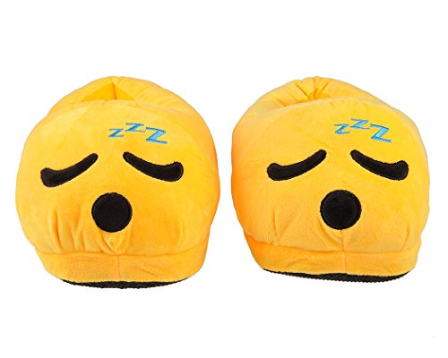 Emoj Unisex Shoes Slippers Fun Demon Etc Sleeping Smiley Warm Face Winter Poop Cute Adult EAqAfwF