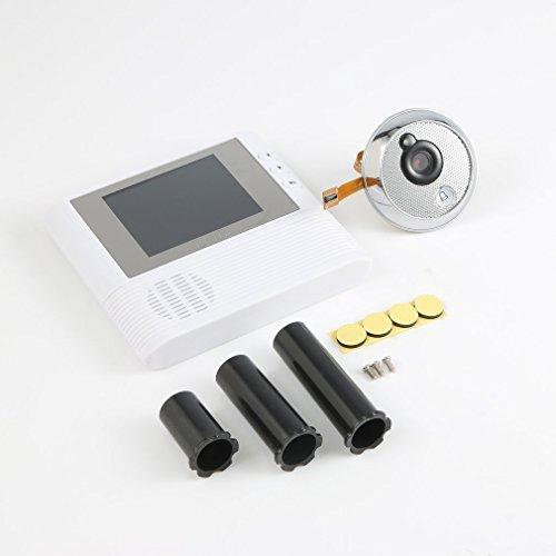 2.8'' LCD Digital Peephole Viewer Door Eye Doorbell Video Color IR Camera 806 by CLKjdz