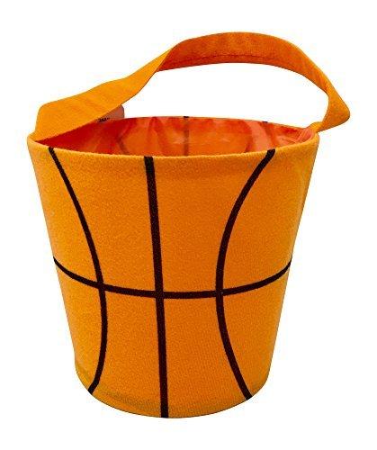 (Halloween Basket - Round Bucket Bag for Toys - Storage Bucket -)
