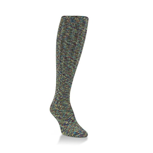 World's Softest Ragg Collection Over the Calf Length Womens Socks - One Size Fits Most (Serenity)