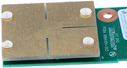 電源スイッチボード Xbox 360 Slim部品 オン/オフ PCB回路基板 修理用
