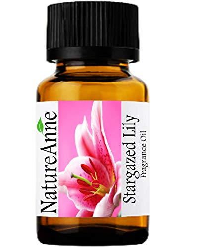 Stargazer Lily Premium Grade Fragrance Oil - 10ml - Scented Oil - for Diffuser Oils, Making Soap, Candles, Lotion, Home Scents, Linen Spray, Lotion, Perfume, Beard Oil,