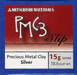 Mitsubishi PMC3 Precious Metal Clay Silver Thin Paste Type 18.6 (Pmc3 Silver Clay)
