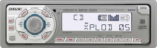 amazon com sony cdx f50m marine cd receiver mp3 player  sony cdx f50m wiring diagram