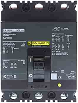 Details about  /SQUARE D CIRCUIT BREAKER FAL36020 3 POLE 20 AMP 1 Year Warranty