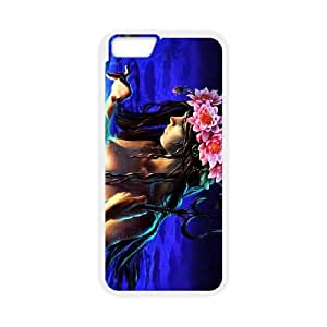 Anime Mermaid iPhone 6 Plus 5.5 Inch Cell Phone Case White Vzyls