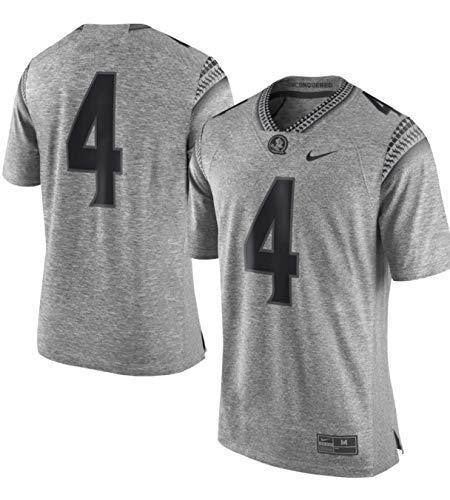 Nike Florida State Seminoles  4 Gridiron Gray Stitched Limited Garnet  Football J.. d6d2ca76a