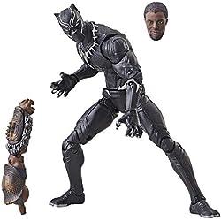 """Marvel Legends Series 6"""" Black Panther Figure, Brown"""