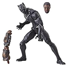 "Marvel Legends Series 6"" Black Panther Figure"