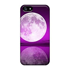 Iphone 5/5s Case Bumper Tpu Skin Cover For Tropical Moon Accessories