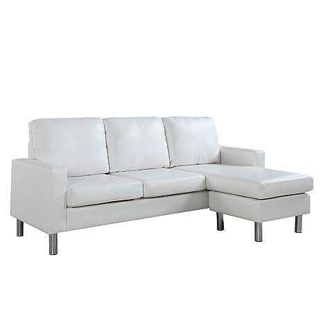 Amazon.com: Sofá seccional configurable, sofá convertible en ...