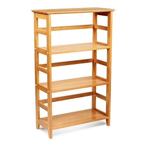Civet Home SH01-0105-025-SG-A04 Bookshelf, Honey