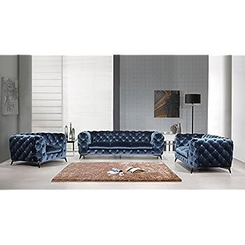 Amazon.com: VIG Furniture Divani Casa Nantes Collection Italian ...