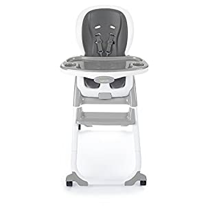 Ingenuity SmartClean Trio Elite 3-in-1 High Chair - Slate - High Chair, Toddler Chair, Booster