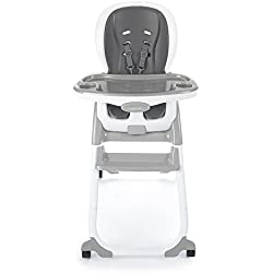 Ingenuity SmartClean Trio Elite 3-in-1 High Chair - Slate - High Chair, Toddler Chair, and Booster