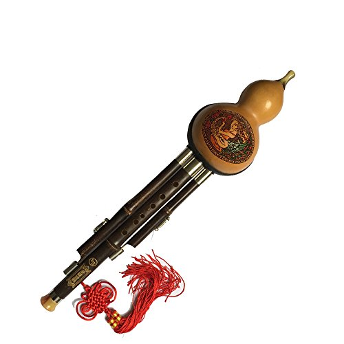 dream-amy-professional-hulusi-bb-key-3-octaves-gourd-flute-woodwind-with-box