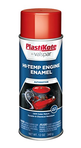 PlastiKote 206 Ford Red Engine Enamel, 12 oz.