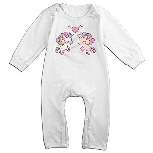 Newborn Baby Unicorn Long Sleeve Romper Jumpsuit 12 Months (Miss Living Dead Costume)