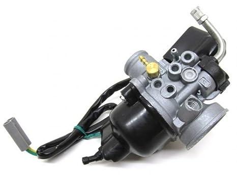 Carburador de 17,5 mm, incluyeobturador eléctrico PHVA PHVN para Piaggio Zip SSL Sfera NSL RST 50 TPH NRG MC 2 3 NTT Typhoon Quartz Gilera Runner Stalker ...