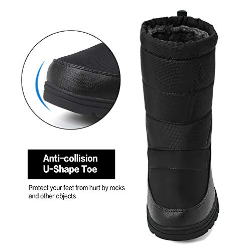 Pictures of Men and Women's Waterproof Snow Boot U118WXZ030 3