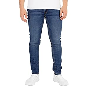 Jack & Jones Men's Liam Original 005 Skinny Jeans, Blue