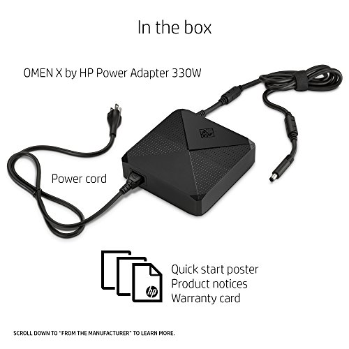 OMEN X by HP Gaming Power Adapter 330W (Black) by HP (Image #3)