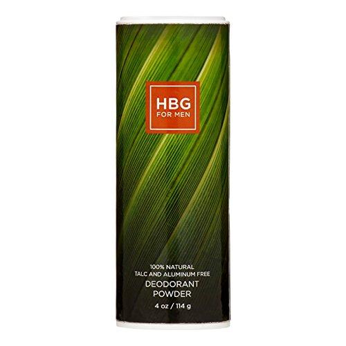 Honeybee Gardens for Men, Bay Rum Deodorant Powder