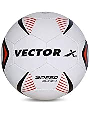 Vector X Speed Volleyball (White-Red) (18panels)