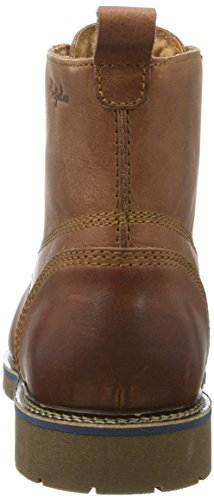 AUSTRALIAN Everest Leather, Sneaker a Collo Alto Uomo Marrone (Cognac)