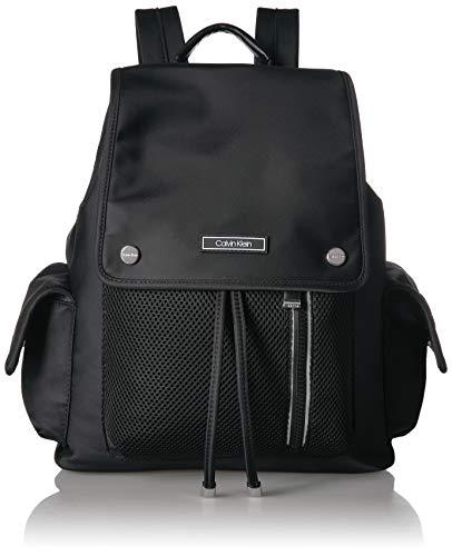 [해외]캘빈 클라인 탈리 나일론 메쉬 조직 플랩 배낭 / Calvin Klein Tali Nylon Mesh Organizational Flap Backpack