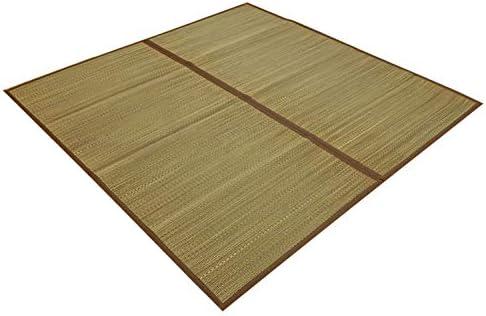 い草 花ござ カーペット yonaguni-6(O) 江戸間 六畳 6畳 6帖 約261×352cm シンプル 和モダン ラグ 上敷き