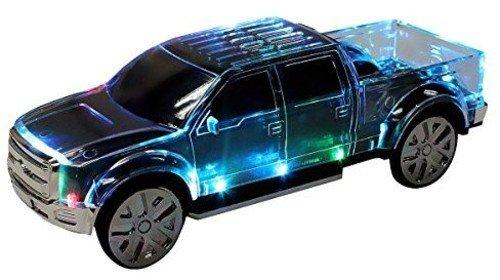 QFX BT-186BLK Mini Musical Pick-Up Truck Speaker with Bluetooth - Black
