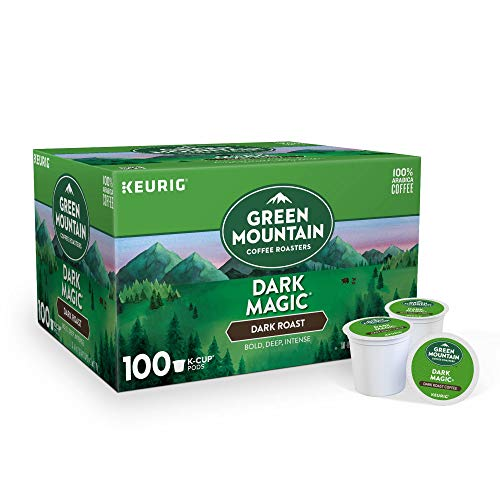 Green Mountain Coffee Roasters Keurig Single-Serve K-Cup pods, Dark Roast Coffee, 40.2 Ounce
