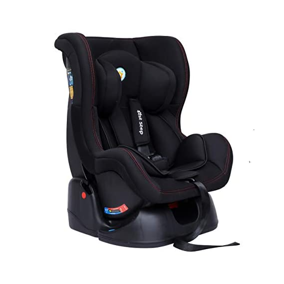1st Step ECE R44/04 Safety Certified Convertible Car Seat for Kids of 0 to 5 Years Age with 3 Recline Position and 5
