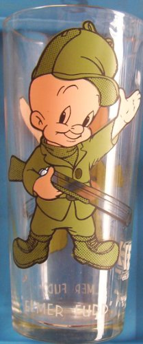 1973-elmer-fudd-pepsi-cartoon-glass-hardees-promo-warner-bros