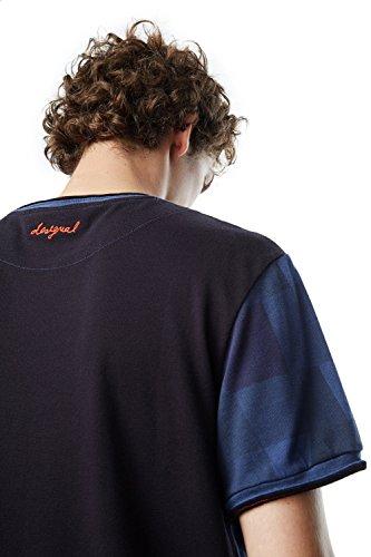 T Shirt Noir Desigual 17wmtk61 Sobrem 7gSnZ