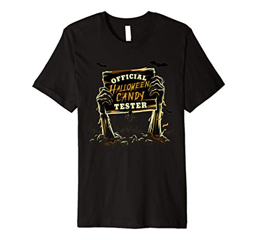 Official Halloween Candy Tester shirt -