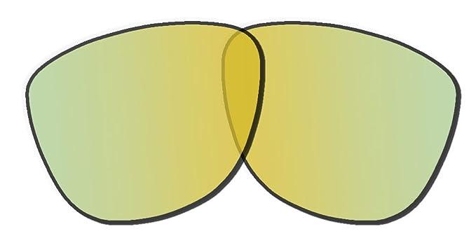fe3c7f9825 Oakley Frogskins Replacement Lenses 24K Iridium Polarized at Amazon ...
