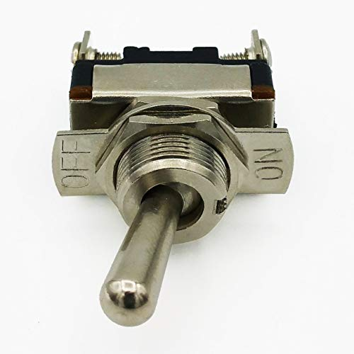 (Cambridge Toggle Switch Metal On-Off 15A/ 12 VDC/ 180)