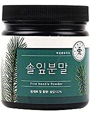 Natural Pine Needle Powder with 2g Spoon (100% Pine Needle) (Origin South Korea) 6.35oz (180g)
