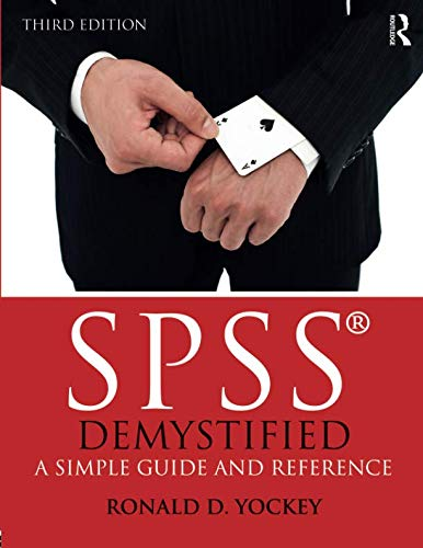 SPSS Demystified