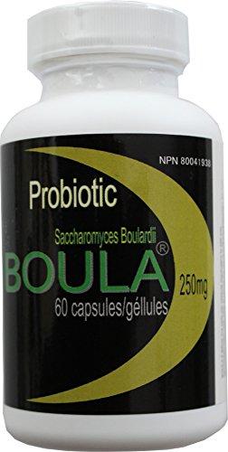 Boula - (Saccharomyces BOULArdii) 60 Veggie caps (Expiry Date: June 2020)