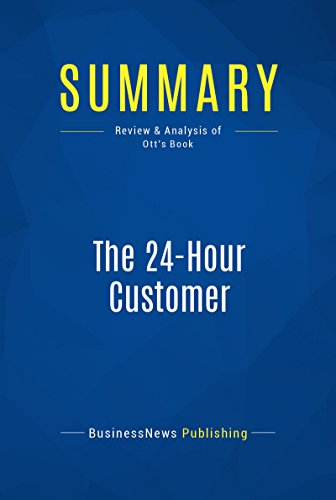 Amazon Summary The 24 Hour Customer Review And Analysis Of