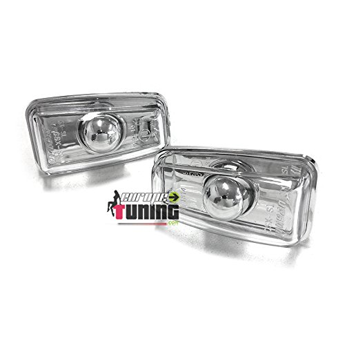 europetuning - 00950 - REPETITEURS - CLIGNOTANTS CHROME SPORT TUNNG 106, 306, 406, SAXO